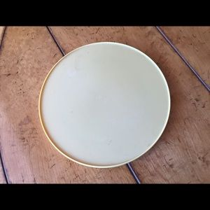 Vintage Rubbermaid Lazy Susan Harvest Gold